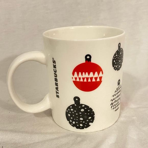 2016 Starbucks Holiday Mug Christmas Ornaments